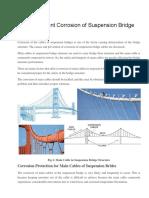 How to Prevent Corrosion of Suspension Bridge Cables