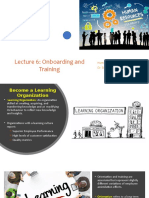 Lecture 6 - Onboading and Training SFU BUS381