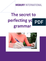 The Secret to Perfecting Your Grammar