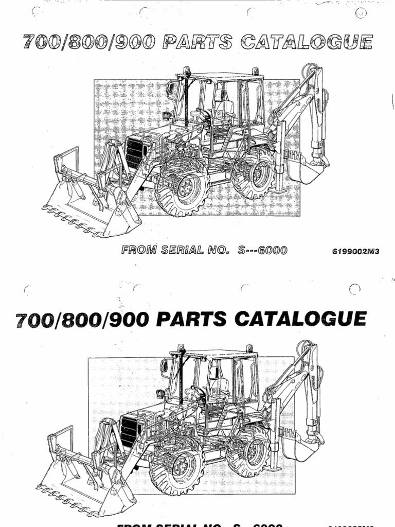 FERMEC_700-800-900 Parts Manual from serial S6000