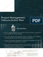 Project Management_ Yamuna Action Plan