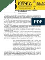 ARTIGO - O Paradigma Indiciario Como Metodologia Para Estudos Historiograficos