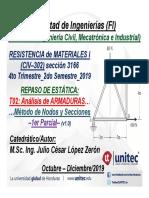 Ppt02 Repasoestática Armaduras Parcial1 Civ302 Rm1 3166 2019q4 v1