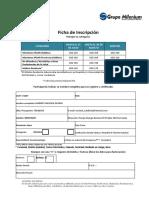 Ficha Spaar 2019