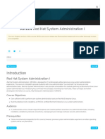 RH124 Red Hat System Administration I