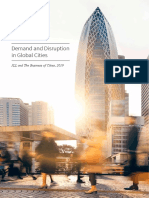 Demand and Disruption in Global Cities 2019