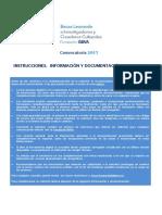Informacion Becas Leonardo Fundacion BBVA 2017