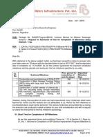 Delay Analysis Letter Bikaner