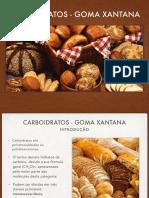 Carboidratos - Goma Xantana