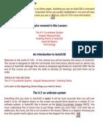 Free CAD Lesson 1 1 the Basics,