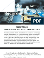 Portable Powerbank Recorder