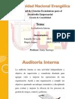 Diapositiva Auditoria Interna