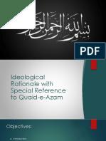 Ideolgical Rational of Quaid-e-Azam