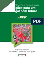 Programa Eleitoral PCP - Eleições Legislativas 2019