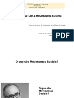 CIbercultura e Mov Sociais