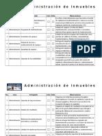 Check List Cambio de Administración