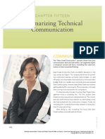Chapter 15 _ Summarizing Tech Comm