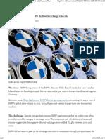 BMW (Exchange Risk)