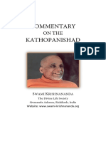 Commentary on the Kathopanishad