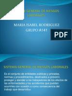 Sisteme General de Riesgos Laborales