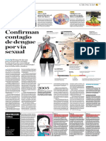 Confirman Contagio de Dengue Por Vía Sexual