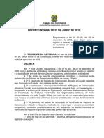 Decreto Nº 9.846, De 25 de Junho de 2019