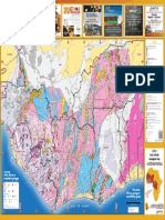 Carte Geol Afrique de L'Ouest 2019 avec mines - West Africa Geological map 2019 with Mines