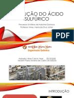 PRODUÇÃO DO ÁCIDO SULFÚRICO.pptx