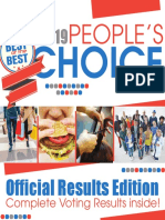 People's Choice 2019 - Results Edition