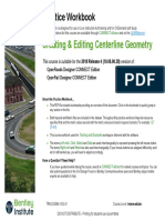 Creating and Editing Centerline Geometry 2018R4!02!01