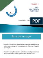 Base Del Rabajo, Funciones Trigonometricas (1)