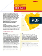 The DHL Guide to Middle East Business Ettiquette