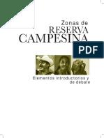 3.0 Areas de Reserva Campesina