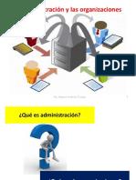 1 La Adminitración y Las Organizaciones PPT