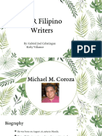 NCR Filipino Writers