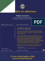 Abrahamic Religions Analysis