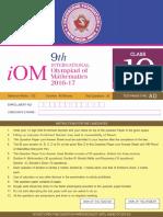 2016 Level-2 Iom 10th