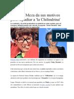 Florinda Meza Motivos