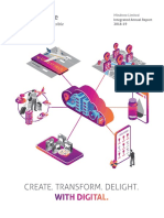 Mindtree Limited Integrated Report 2018 19