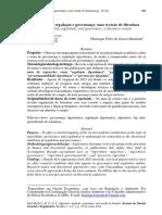 MACHADO, Henrique Felix. Algoritmos, regulação e governança