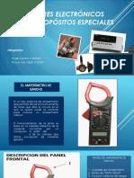 Medidores Electrónicos Para Propósitos Especiales