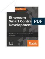 Ethereum Smart Contract Development Build Blockchain Based Decentralized Applications Using Solidity2018