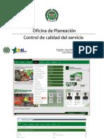 Control de Calidad Del Servicio - OfPLA