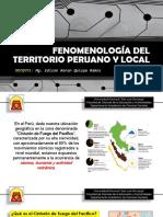 Clase 3 - Fenomenología Del Territorio Peruano