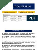 7.- Politica Salarial