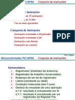 PIC - Conjunto de Instruções1