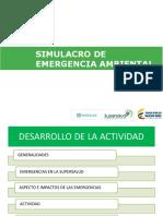 8. COFL01. Capacitacion Simulacro Ambiental
