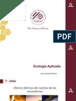 Efectos Dañinos Del Cambio de Los Ecosistemas