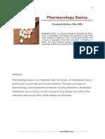 Basic Nursing Pharmacology