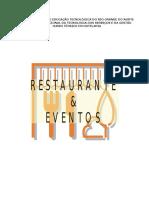 Restaurante e Eventos